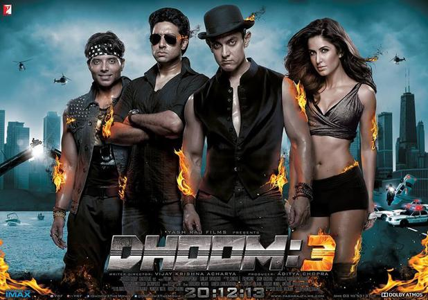 Dhoom 3 First Day collection and Movie Review