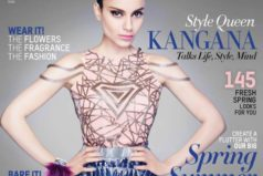Kangana Ranaut on the covers of L'Officiel