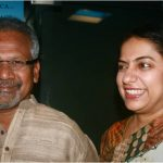 Mani Ratnam with his wife