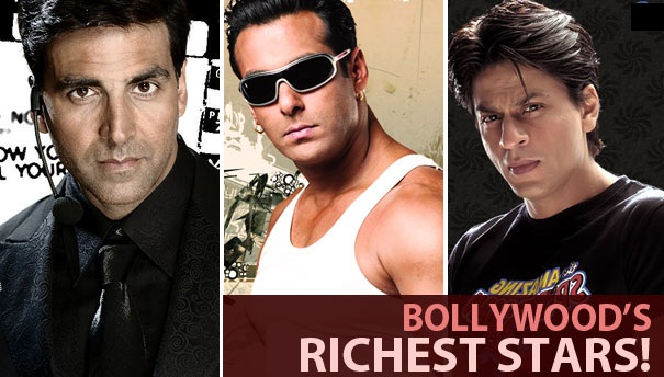 Top 10 Richest bollywood actors