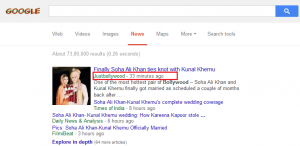 Just Bollywood In Google News