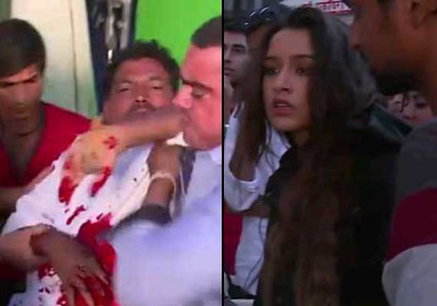 Photo of Shraddha Kapoor attacked stuntmen with real knife