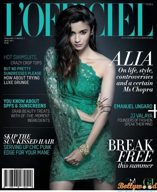 Photo of Alia Bhatt sizzles on the cover of L'Officiel Magazine