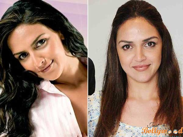 Esha Deol before and after