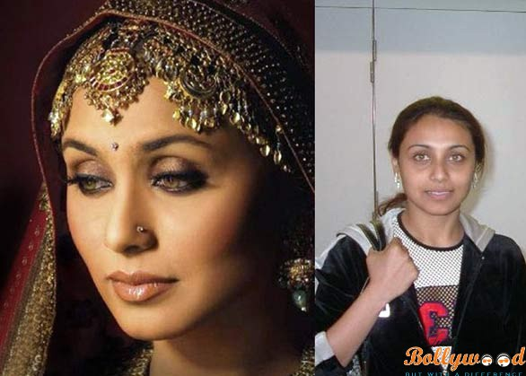 Rani Mukherjee plastic surgery before and after