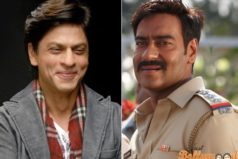 SRK and Ajay patch up with a hug