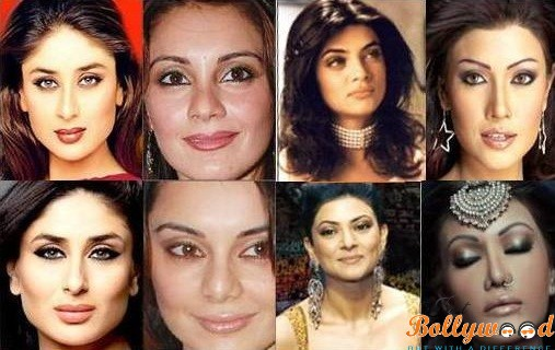 Top Bollywood actress plastic surgery before and after