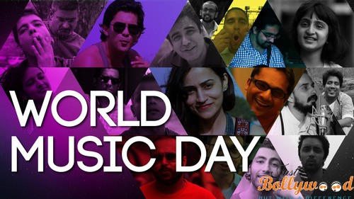 Word Music Day and Bollywood