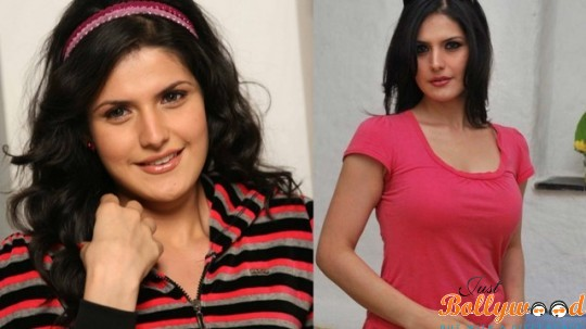 zarine khan before and after