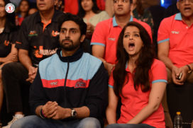 Pictures : Celebrities At The Inaugural Match Of Pro-Kabaddi League