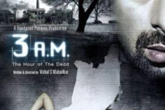 3 A.M – Hindi : A Horror Movie Trailer Released !