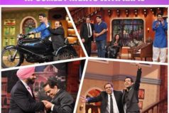 Double Di Trouble Promotion on Comedy Nights With Kapil Check Pics