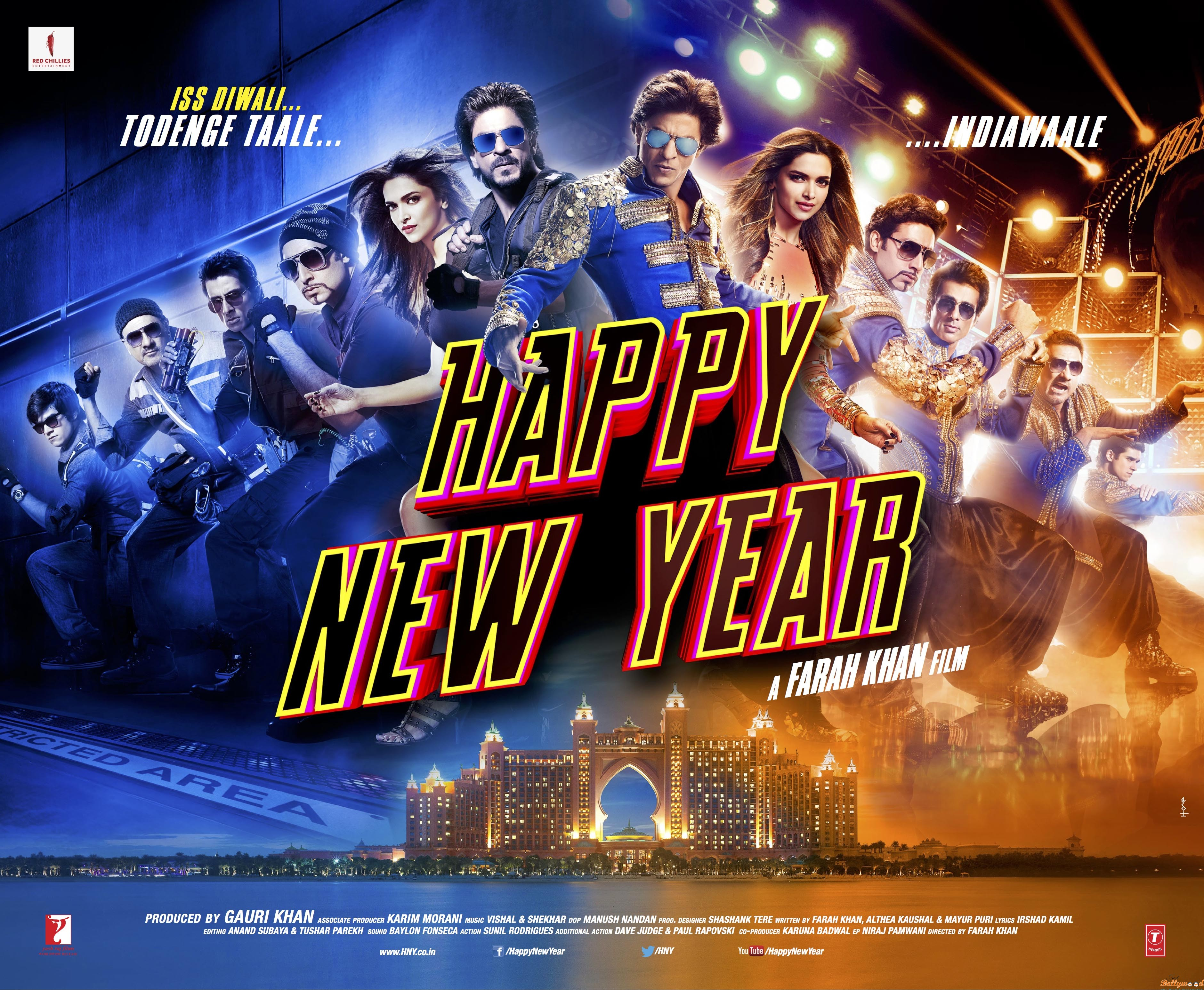 Photo of Happy New Year – HNY Crosses 100 Crores in First Weekend at Box office