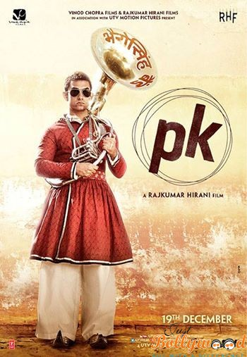 PK Movie Second Poster