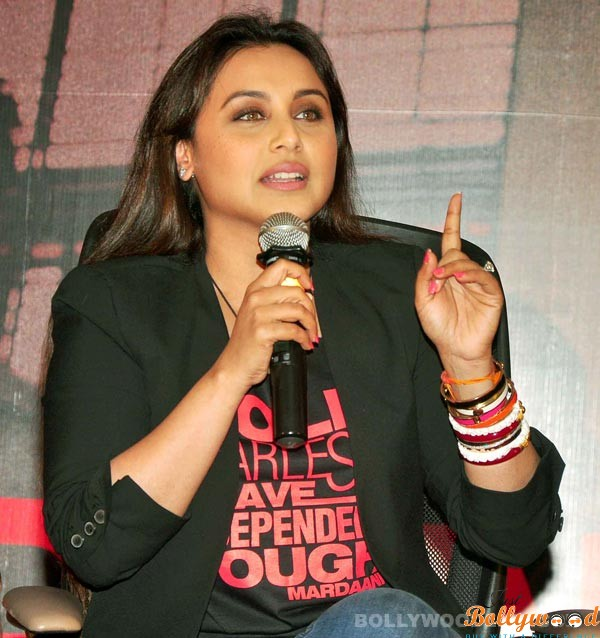 rani-mukerji talk to media about Mardani