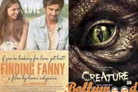 First weekend collection – Finding Fanny and Creature 3D