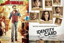 First Week Box Office Collection Raja Natwarlal and Identity Card