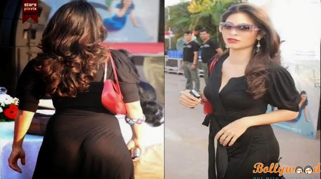 Tanisha Mukherjee Wardrobe Malfunction