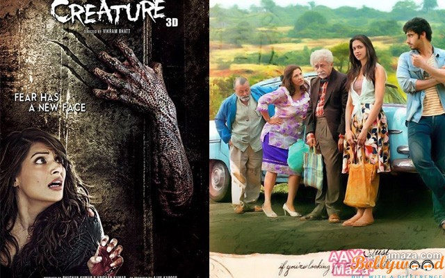 finding-fanny and creature-3d first week box office report