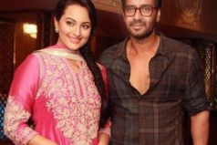 Ajay Devgan and Sonakshi promote Action Jackson on Comedy Nights With Kapil