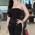 Elli Avram In Black Dress