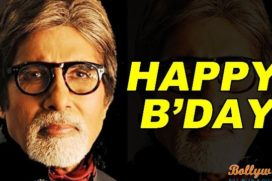 The living legend Amitabh Bachchan turns 72 today