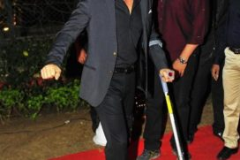 SRK injured during Happy New Year promotional event