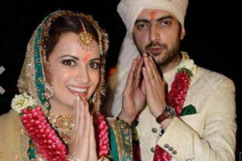 Finally ! Diya Mirza-Sahil Sangha Get Married : Check out the Pictures