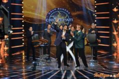 Happy New Year team visits Sony TV set's of KBC