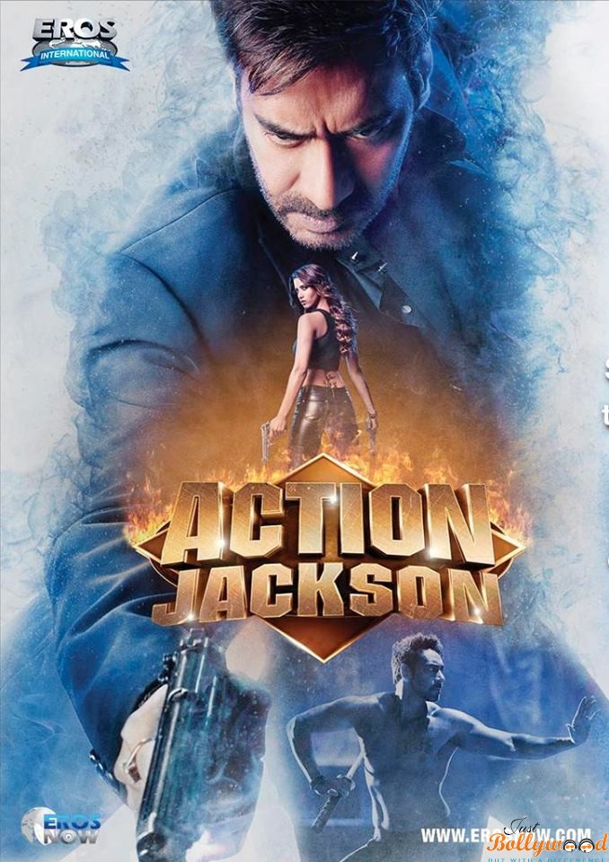Action Jackson New Poster