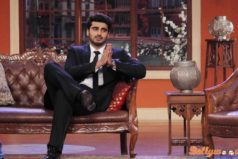 Arjun and Sonakshi promote Tevar on Comedy Night with Kapil