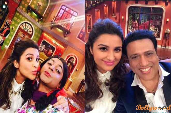 Photo of Kill Dil Team on Comedy Nights With Kapil