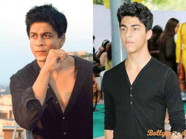 aryan-khan and shah rukh khan