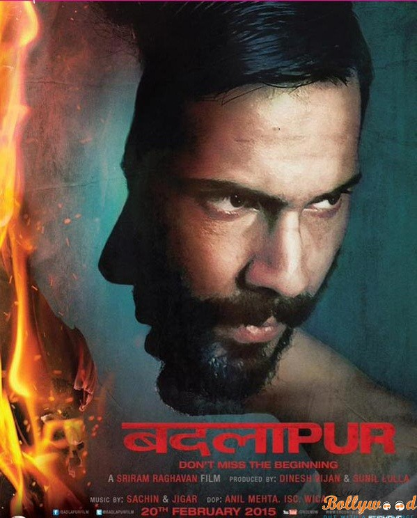 Badlapur new poster