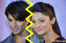 All over between Karan Singh Grover and his wife Jennifer Winget