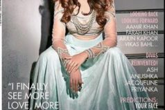 Huma Qureshi on Covers of CineBlitz  January 2015 Issue