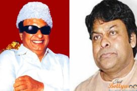Is Telugu megastar Chiranjeevi is playing MGR in Amma?