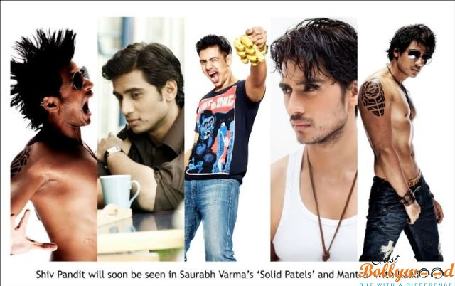 Shiv Pandit in Solid Patels and Mantra