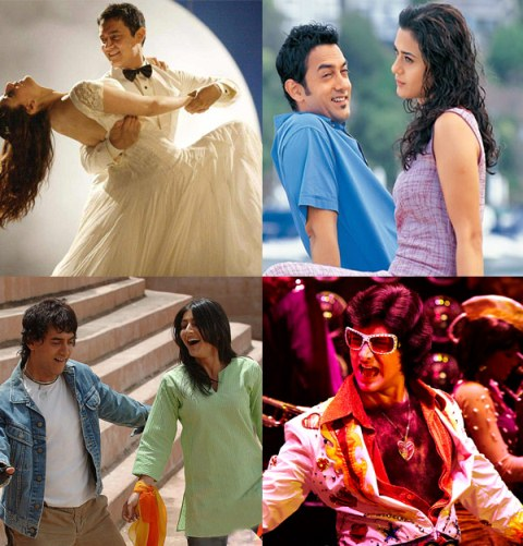 Top 10 Romantic Songs of Aamir Khan