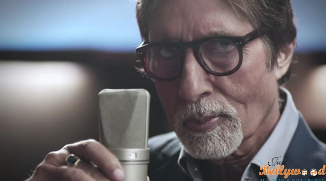 Photo of Amitabh as A Cricket Commentator For India vs Pakistan World Cup