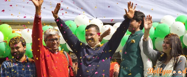 Photo of Kejriwal's Astonishing Victory Explored Bollywood Celebs Reaction