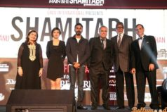 Shamitabh gets its perfect promotion evening in Dubai