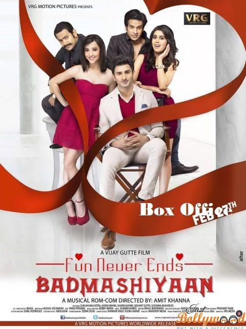 Badmashiyaan 1st Day Box Office Report