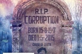 Catch new poster Gabbar Proclaiming 'RIP Corruption'