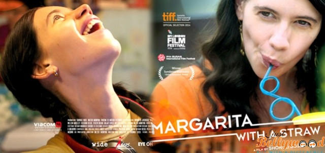 Margarita, with a Straw movie poster wallpaper