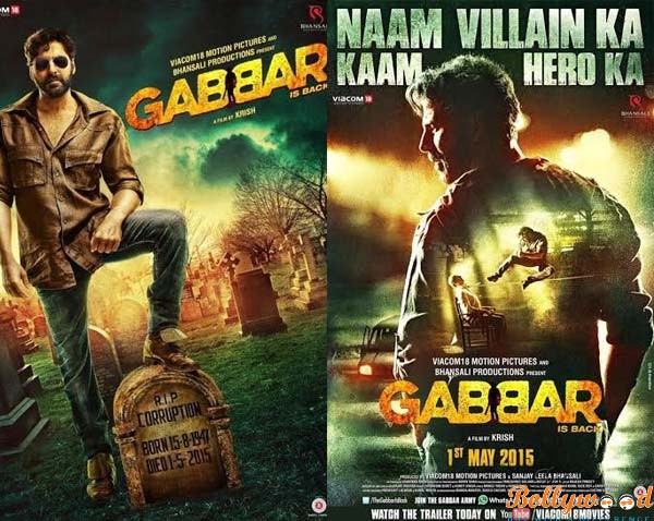 gabbar-is-back posters