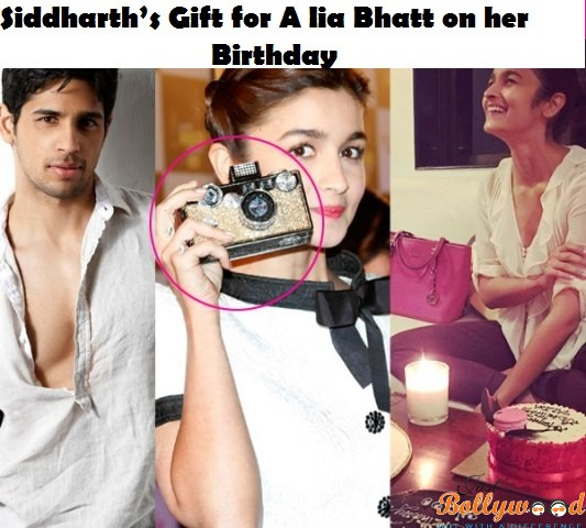 sidharth's gift to Alis on her Birthday