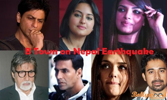 Bollywood.-stars reactions for Nepal earthquake