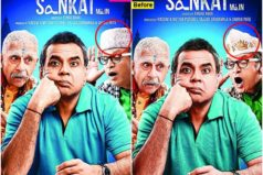Dharam Sankat Mein poster comes with a change!