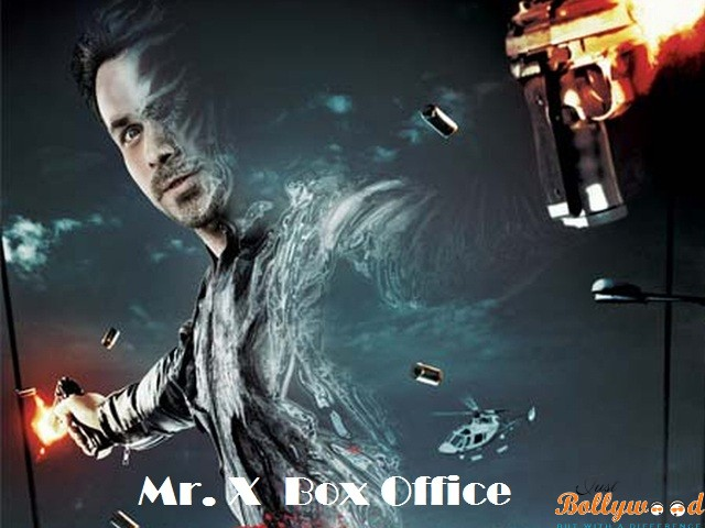 Mr.X first week box office report